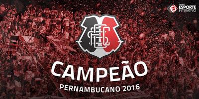 Santa Cruz é Campeão Pernambucano de 2016