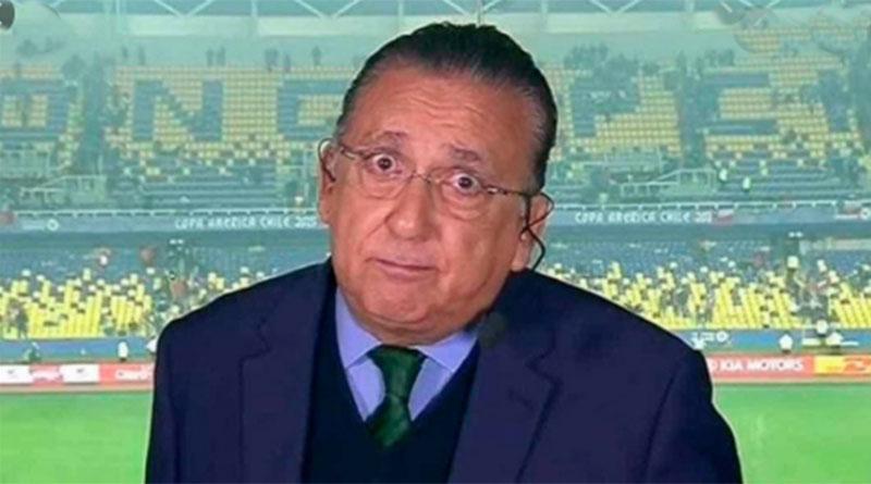 """Galvão Bueno afirma que não vai narrar a Copa de 2022: """"não vai dar, não"""""""