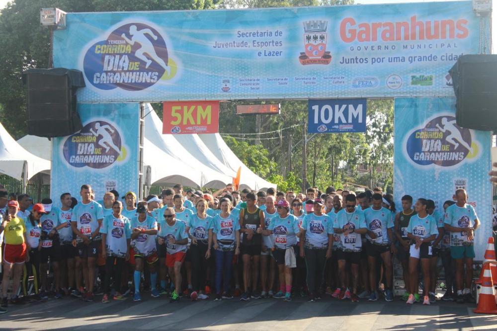 Corrida Dia de Garanhuns chega a sua terceira edição com cerca de 1.000 participantes