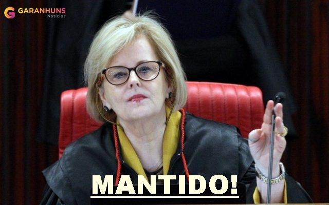 MANTIDO: Ministra Rosa Weber mantém prazo de filiação para eleições municipais após pedido de adiamento