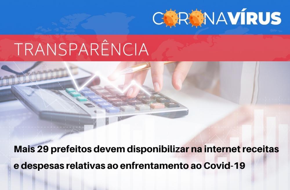 Transparência: Prefeito de Garanhuns e mais 28 prefeitos devem disponibilizar na internet receitas e despesas relativas ao enfrentamento ao Covid-19