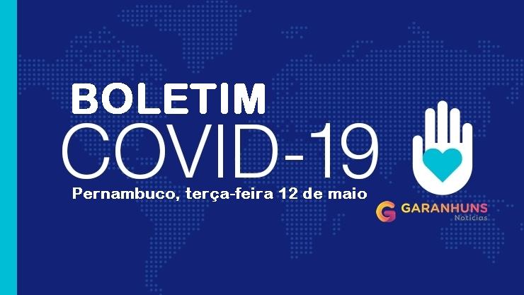 Pernambuco confirma mais 70 mortes e 541 casos de Covid-19; o Estado já soma 1.157 óbitos e 14.309 confirmações