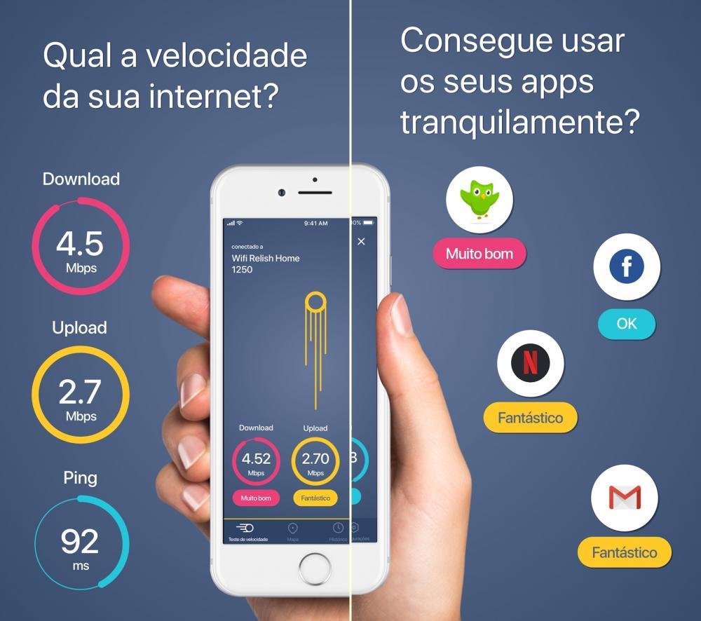 4 melhores apps para medir a velocidade da internet