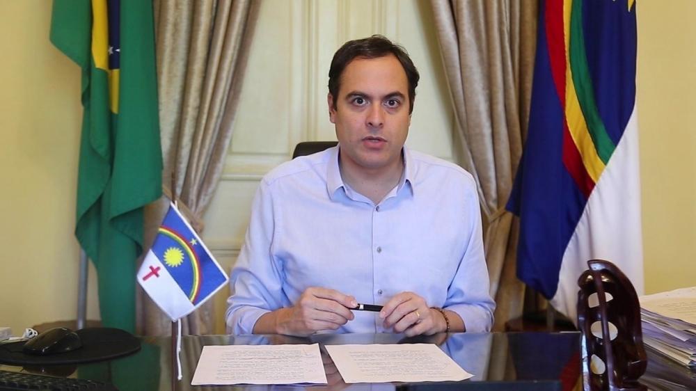 Governador de Pernambuco, Paulo Câmara, testa positivo para Covid-19