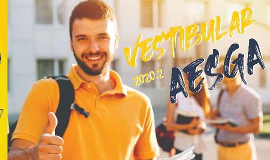 Abertas as Inscrições para o Vestibular 2020.2 da AESGA
