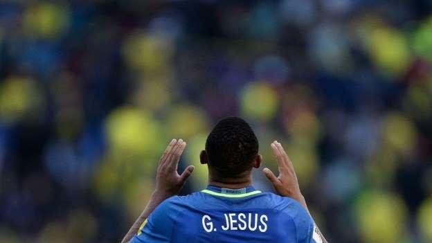 Na estreia de Tite, Gabriel Jesus brilha e seleção atropela o Equador