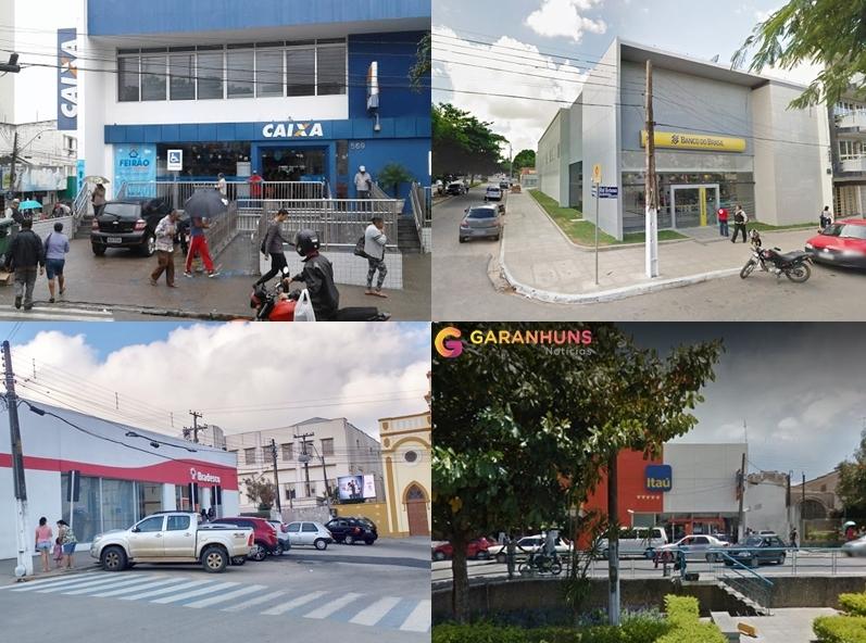 VÃO ABRIR: Agências Bancárias e Casas Lotéricas de Garanhuns abrirão nos feriados antecipados