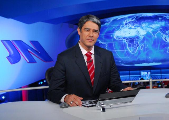 Globo planeja substituir Bonner por Evaristo Costa na bancada Jornal Nacional