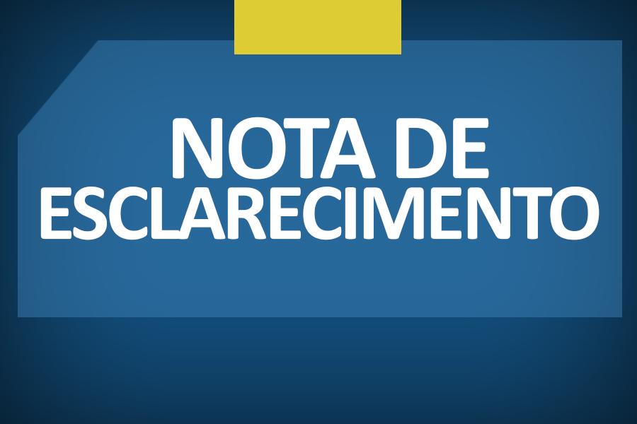 GRE emite Nota de Esclarecimento sobre recomendação do MPPE ao município de São João