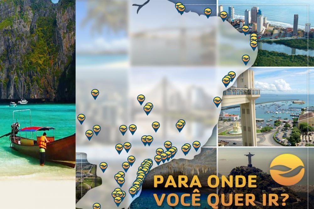 Campanha #ViajePeloBrasil convida púbico