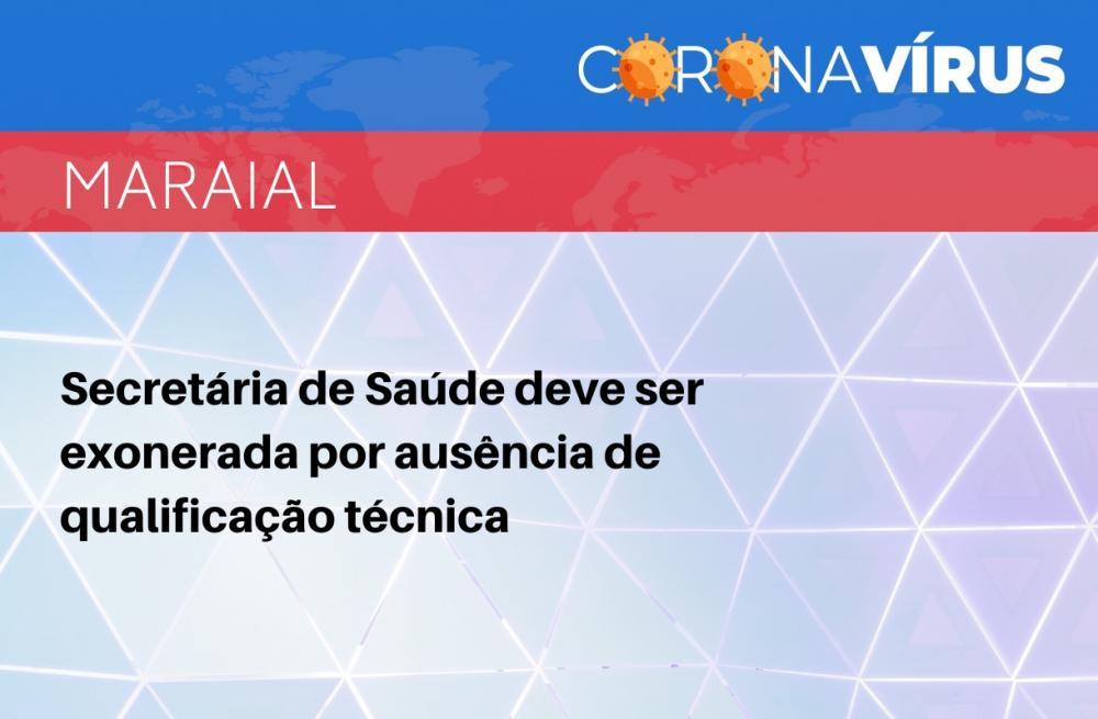 MPPE recomenda ao prefeito de Maraial que exonere secretária de Saúde por ausência de qualificação técnica