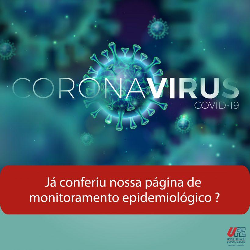 UPE mostra dados estatísticos da pandemia em Garanhuns e região