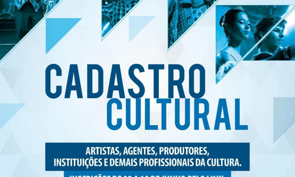 Cadastro Cultural segue aberto até sexta-feira (10)