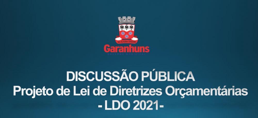 Secretaria de Planejamento e Gestão abre discussão pública sobre Lei de Diretrizes Orçamentárias