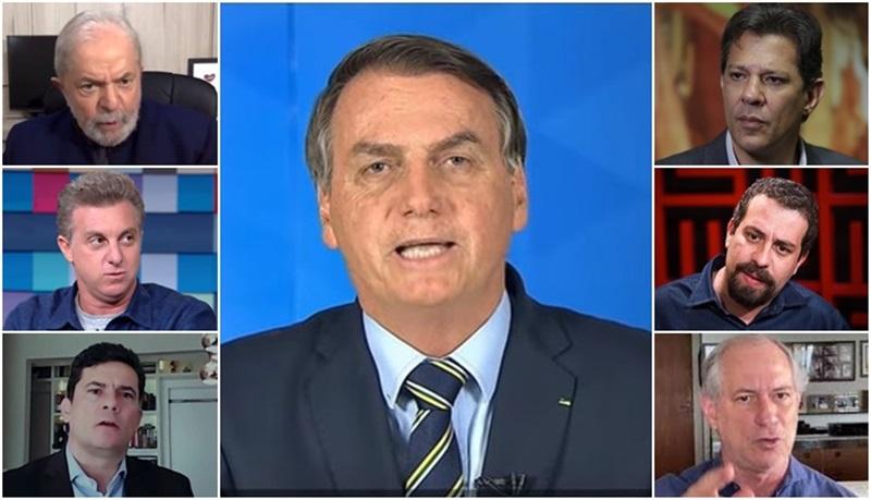 Bolsonaro é favorito na corrida eleitoral em 2022, diz pesquisa exclusiva da revista Veja
