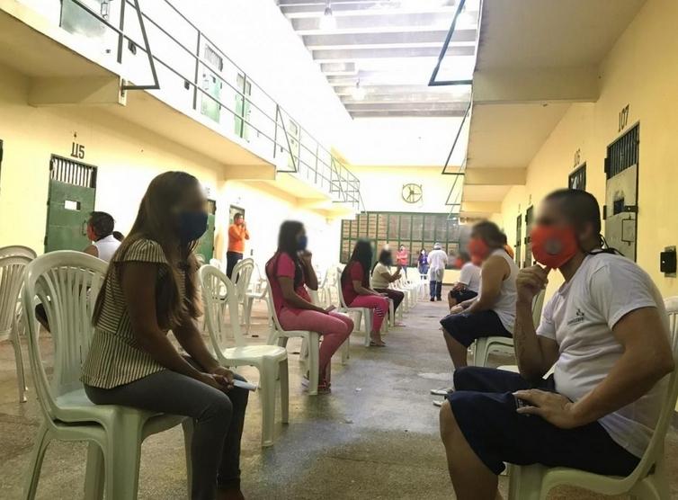 Visitas presenciais às unidades prisionais do estado serão retomadas a partir de 8 de agosto