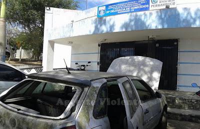Delegacia de Homicídios de Garanhuns é alvo da ação de ladrões