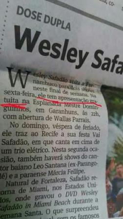 Jornal do Commercio se desculpa e diz que show de Wesley Safadão foi privado, mas população de Garanhuns reclama de falta de transparência em torno da cessão da Praça Mestre Dominguinhos