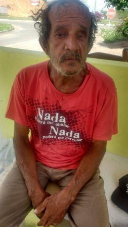 IDOSO NATURAL DE GARANHUNS ENCONTRA-SE PERDIDO NO ESTADO DE SERGIPE