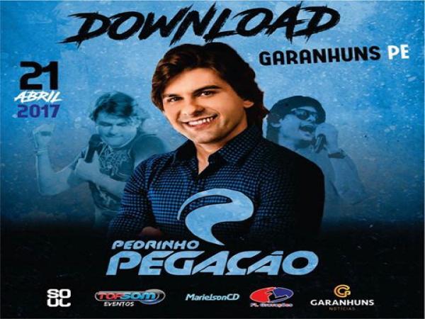 Pedrinho Pegação - SOUL MUSIC - GARANHUNS-PE - 21-04-2017