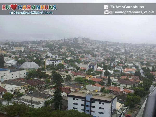 MADRUGADA CHUVOSA EM GARANHUNS: Choveu mais de 20 milímetros no período de 24 horas em Garanhuns