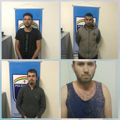 SIMULACRO DE METRALHADORA APREENDIDO IMPRESSIONA: Operação Força em Foco prende quatro suspeitos no bairro Manoel Xeu em Garanhuns