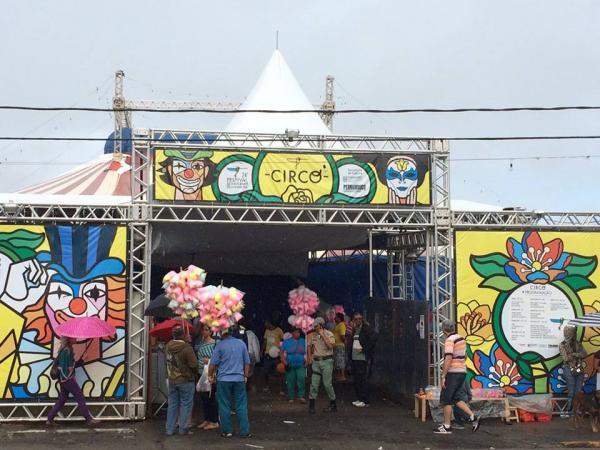 Tradição do circo anima o Festival de Inverno de Garanhuns