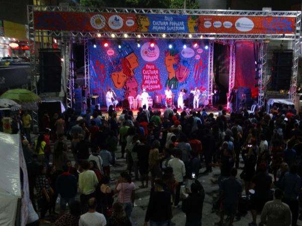 PALCO DEMOCRÁTICO: Forró e maracatu dividem palco durante o Festival de Inverno de Garanhuns