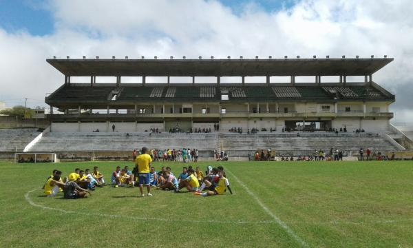 Sete realizou peneiras para montar equipe (Foto: Nilton Aires / Arquivo Pessoal)