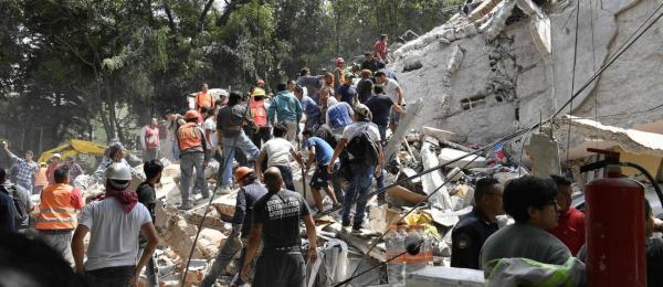SINAL DOS TEMPOS: Terremoto no México deixa ao menos 42 mortos