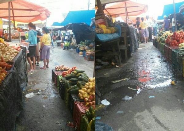DEU MERDA: Galeria estoura e donos de bancas e consumidores são obrigados a conviver em meio a fezes e lama contaminada na feirinha da Cohab I, em Garanhuns