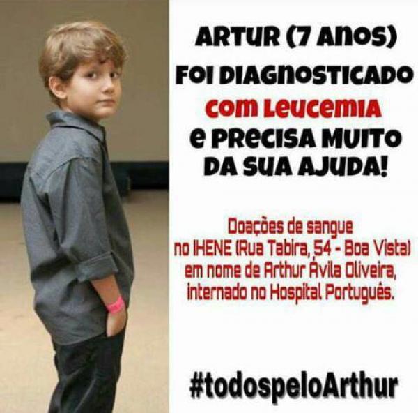 Todos pelo Arthur